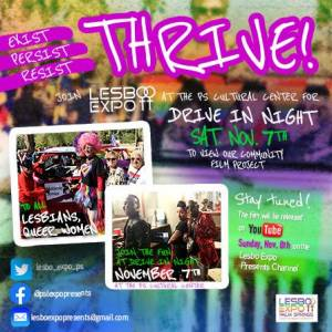 THRIVE Lesbo Expo Pride Drive-In