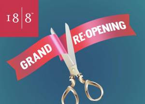 18-8 Grand Reopening