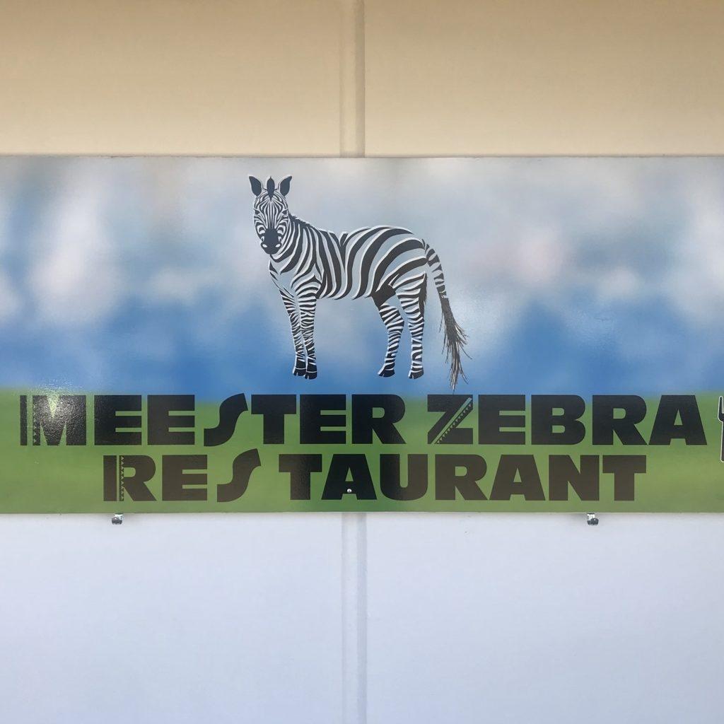 Meester Zebra