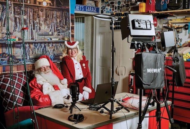 Chet Johnson Santa