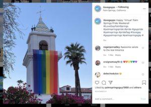 Instagram I Love Gay Palm Springs Pride 2020