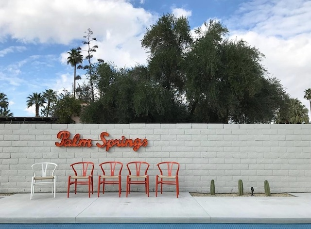Palm Springs Modernism Pool Chairs