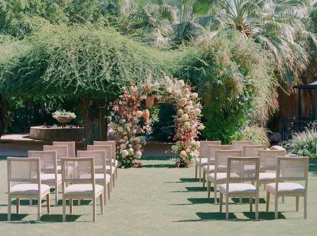 Palm Springs Styled Shoot Wedding