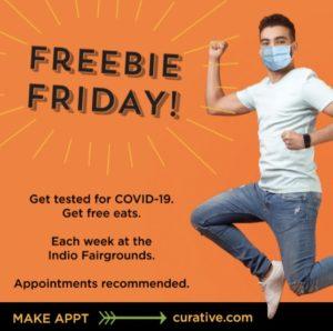 Freebie Fridays Covid Testing Indio