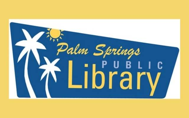 Palm Springs Public Library Logo Rect