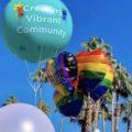 The Center Balloons Pride