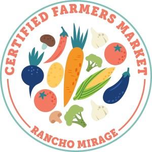 Rancho Mirage Certified Farmers Market Logo