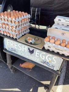 Rancho Mirage Farmers Market Eggs