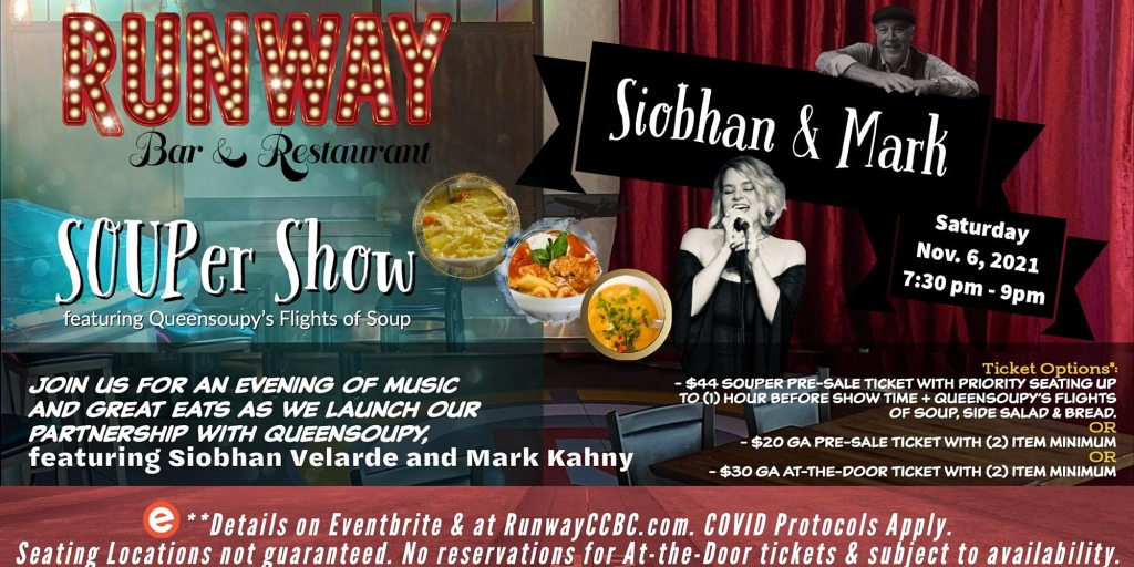 SOUPer Show Nov 6