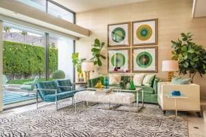 2021-04-15 Modernism Week Seventies Sackley Green Interior