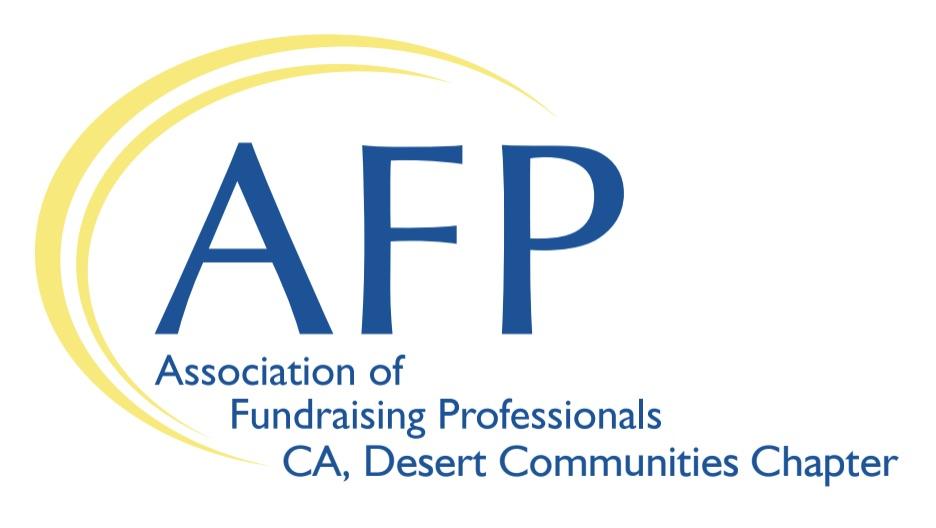 AFP Fundraising Professionals Desert Chapter Logo
