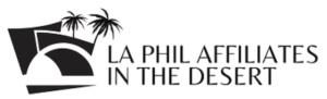 LA Phil Affiliates in the Desert Logo