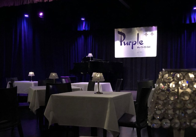 Purple Room Interior