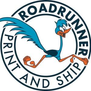 Roadrunner Print Ship Logo