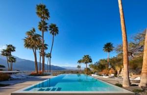 Modernism Week 2021 Tranquil Pool Palms