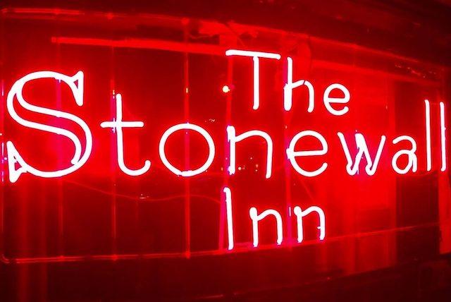 The Stonewall Inn Sign