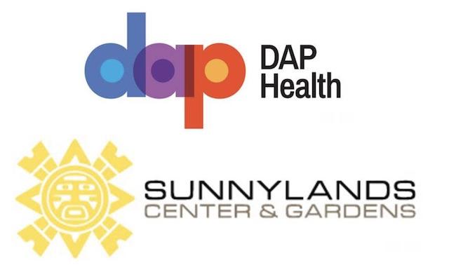 dap health sunnylands combo logos