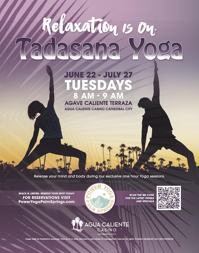 Agua Caliente CC Tadasana Yoga July 2021