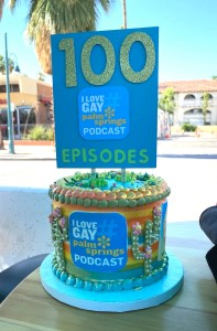 ILGPS Podcast 100th Cake