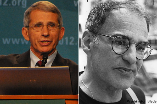 Anthony Fauci Larry Kramer