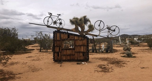 Joshua Tree Art Installations