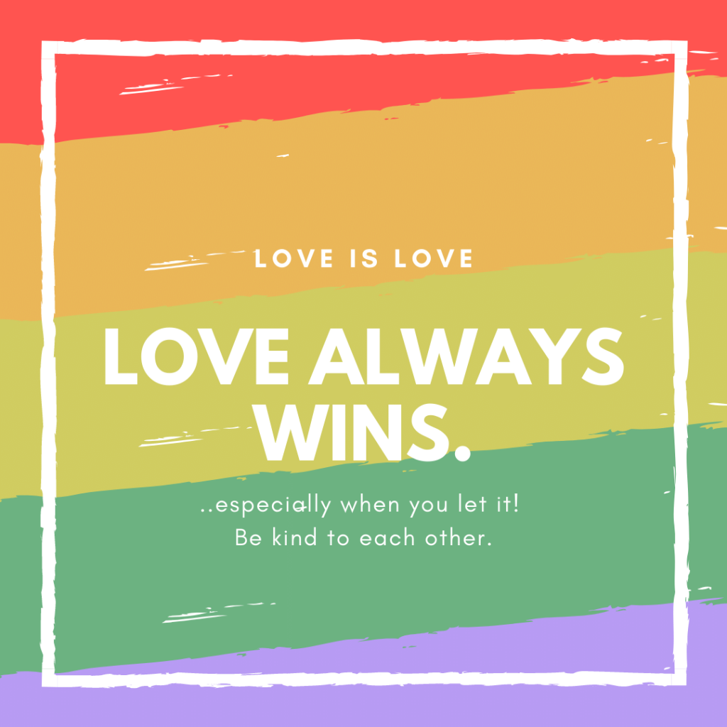 Love Is Love LGBTQ
