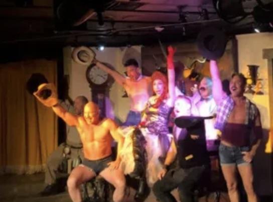 Musclebound Cowboys Desert Rose Playhouse