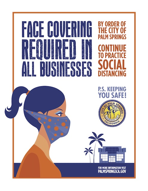 Palm Springs Face Mask