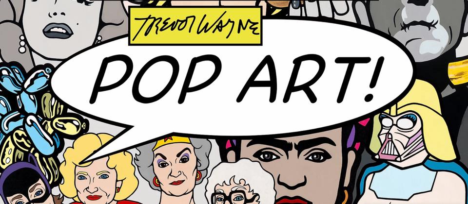 Trevor Wayne Pop Art Store and Gallery