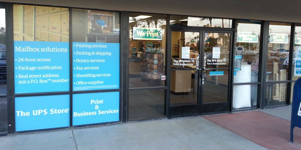 UPS Store #3065 Cathedral City