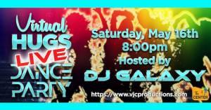 Virtual Hugs Live Dance Party